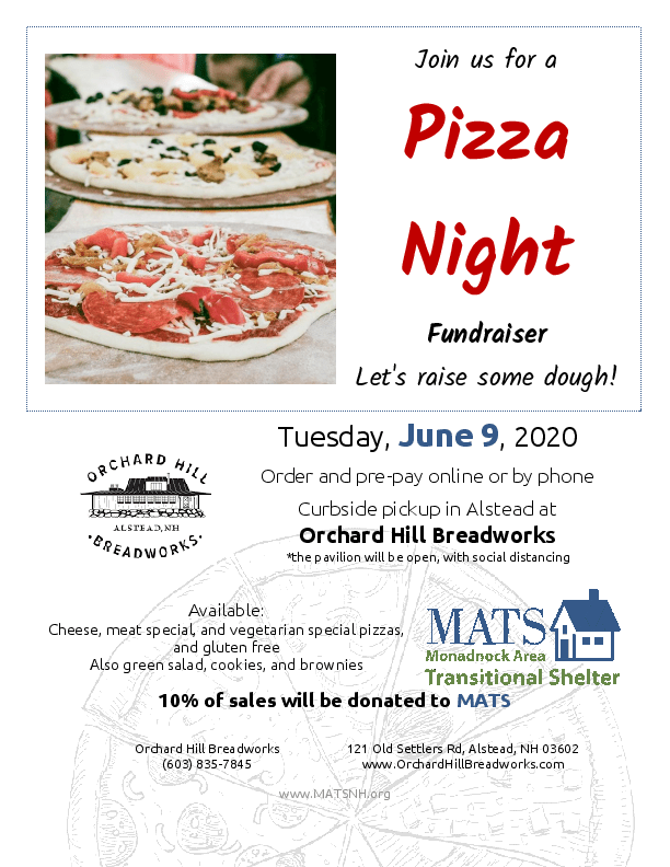 Pizza Night Flyer 2020