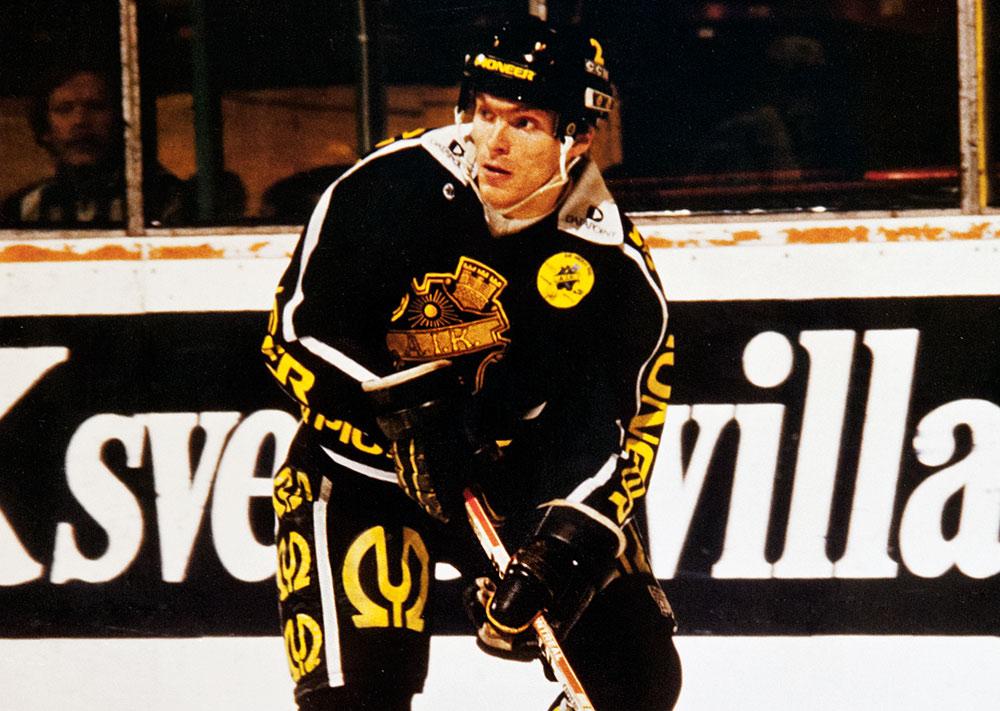 """Mats """"Mördar'n"""" Thelin, AIK Hockey"""