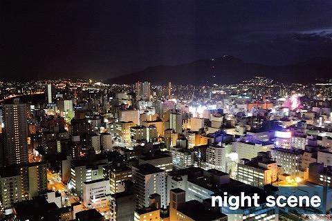 撮影サンプル_札幌夜景