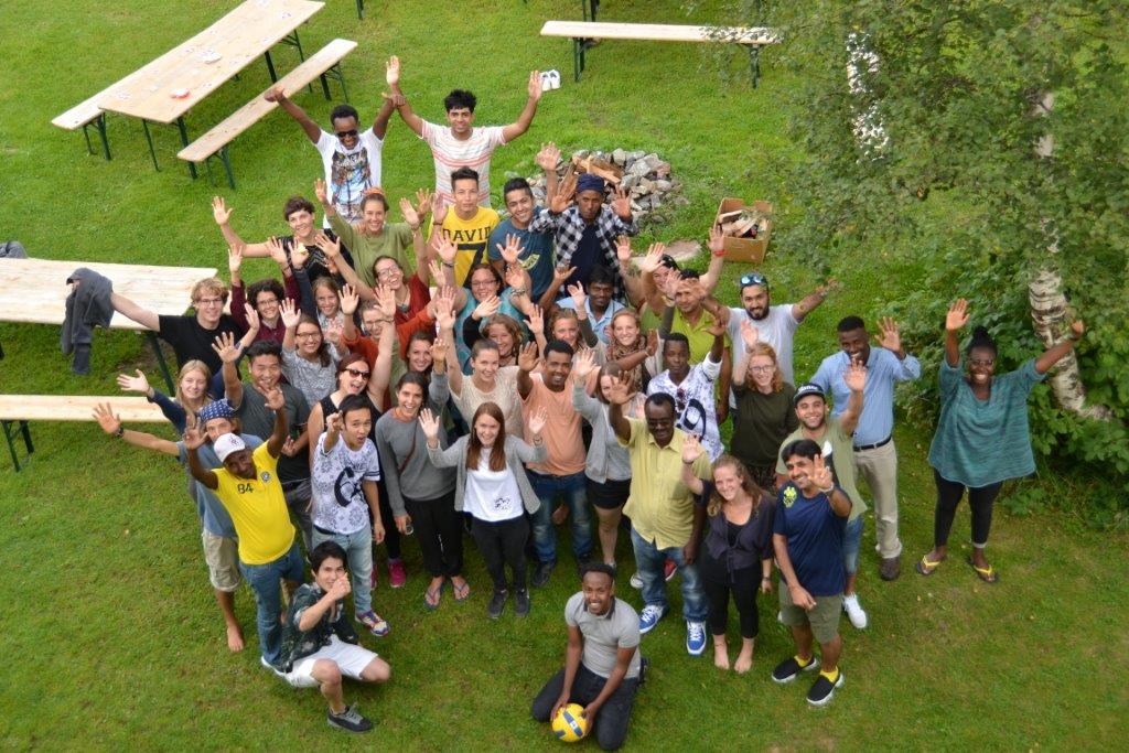 イベントの集合写真 (© youngCaritas Zürich)