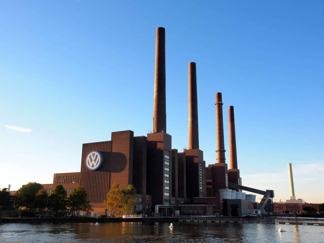 ヴォルフスブルクにあるフォルクスワーゲンの本社工場、2015.02.10. © Matsuda Masahiro
