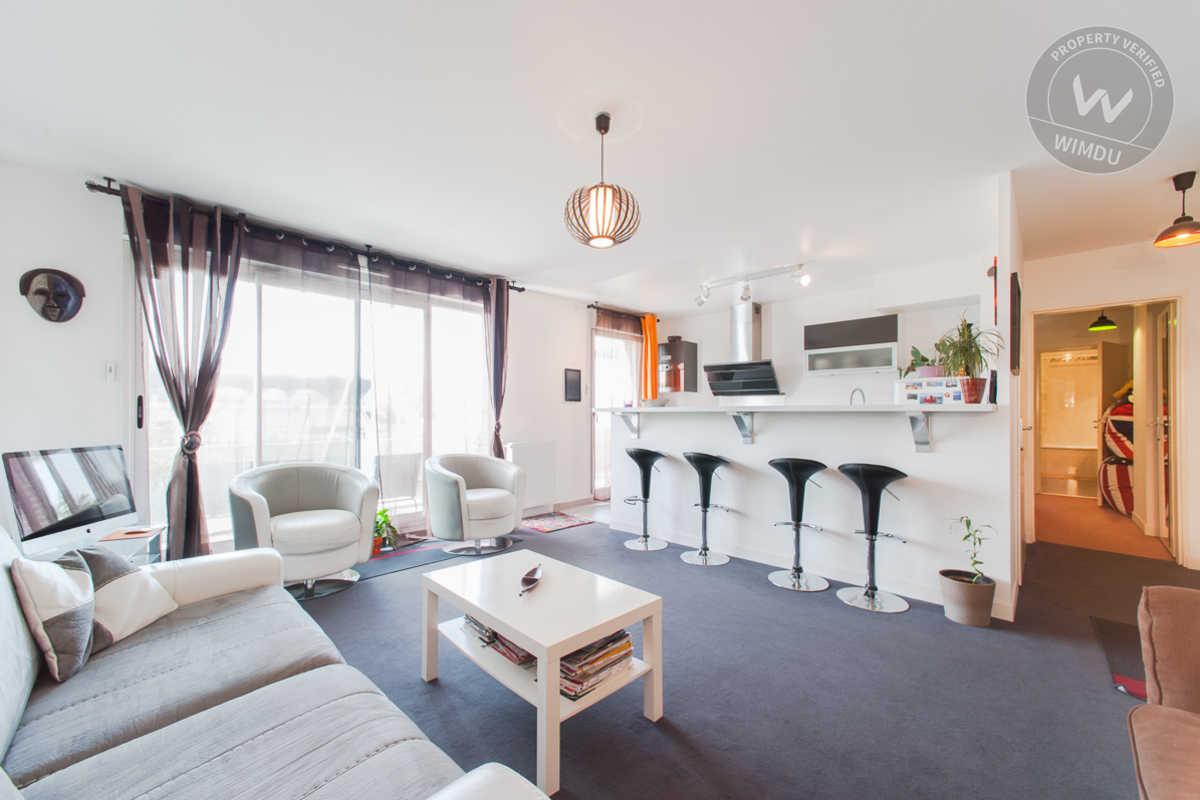 欧州最大規模の民泊仲介サイトWIMDUを通して借りたアパートメント。住居面積は68㎡ © Karl Hospice