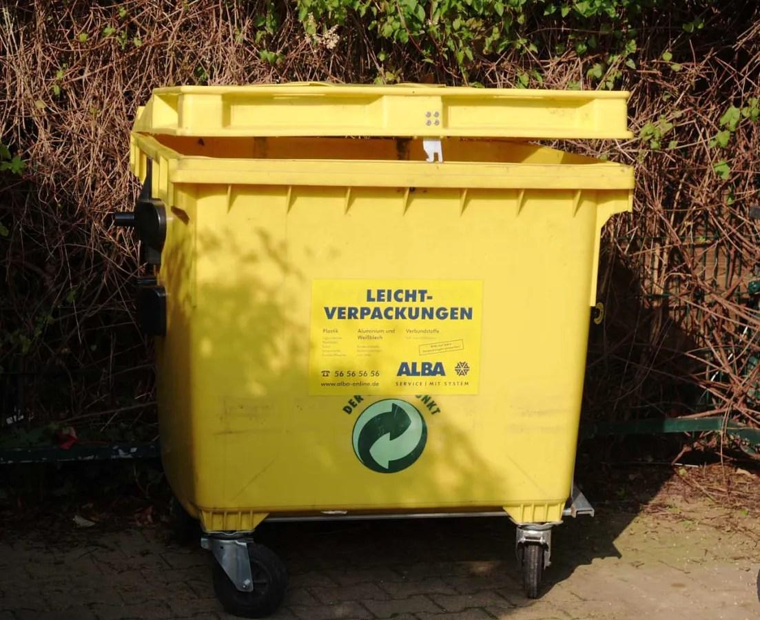 ドイツの包装材回収用コンテナ ©MATSUDA, Masahiro