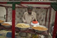 A food seller on the street