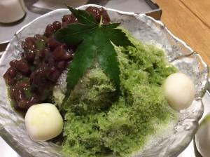 2016-05-05 17.21.45 Food Ujikintoki Kakigori Shotou Ginza Tokyo