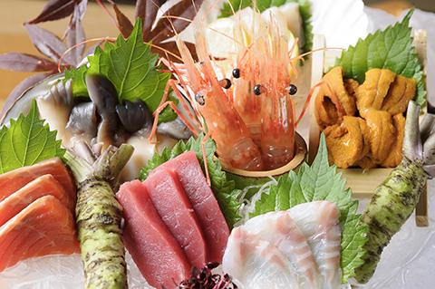 北海道のお店もあるから、新鮮で美味しい海鮮が食べれちゃう!