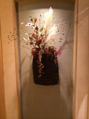 梅の花の廊下の花