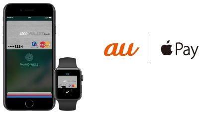 au PAY クレジットカードとApple Pay