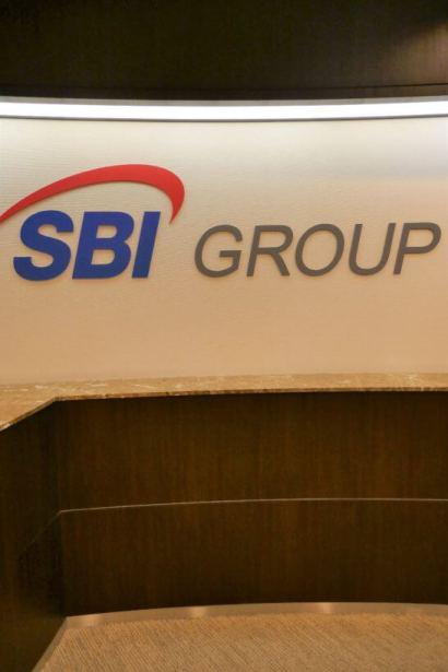 SBI証券の入り口