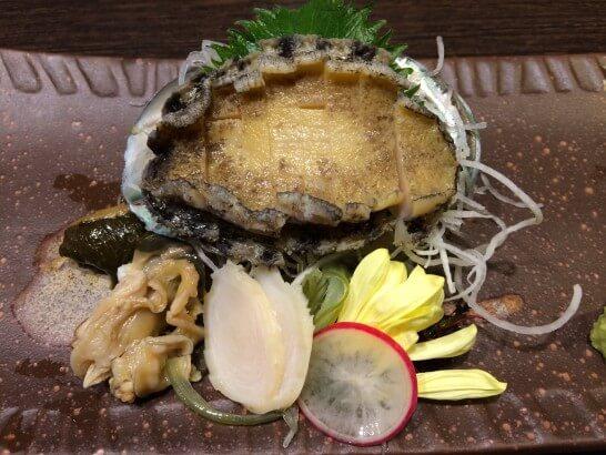 北海道のアワビ