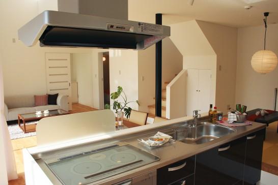住宅のキッチン