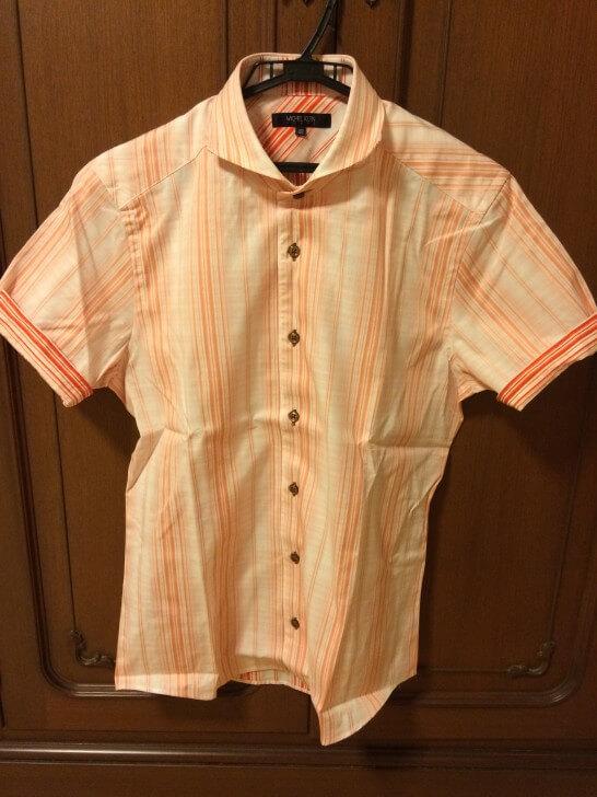 マルイウェブチャネルで買った半袖シャツ