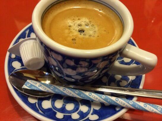 洋麺屋五右衛門のコーヒー