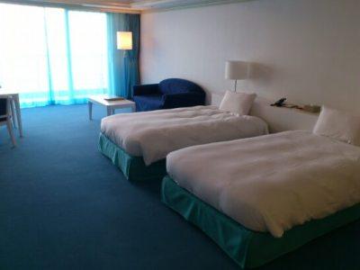 リゾナーレ熱海のベッド