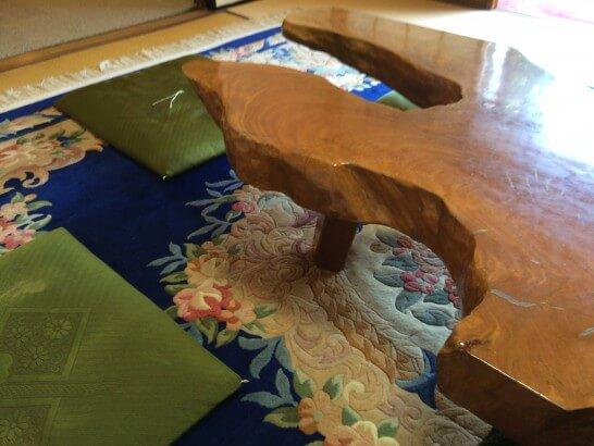 アメックス・ゴールドの京都特別観光ラウンジの席