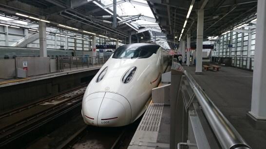 九州新幹線鹿児島中央駅