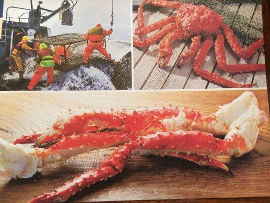 アラスカ産タラバガニのイメージ