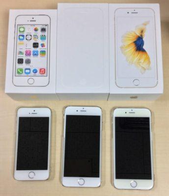 iPhone 5s・6・6s