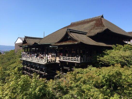清水寺の外観