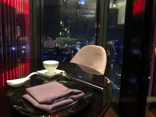 Wホテル台北の中国料理YEN