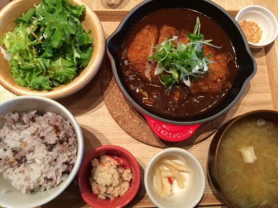 ららぽーとのレストラン(カツ味噌煮)