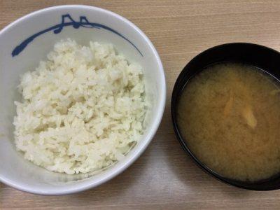 松屋の定食 (3)