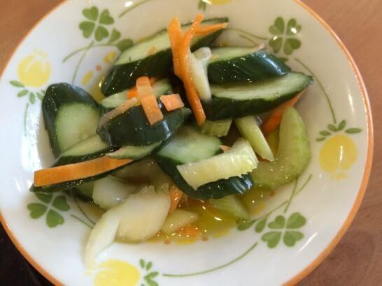 サイゼリヤのミックス野菜のピクルス
