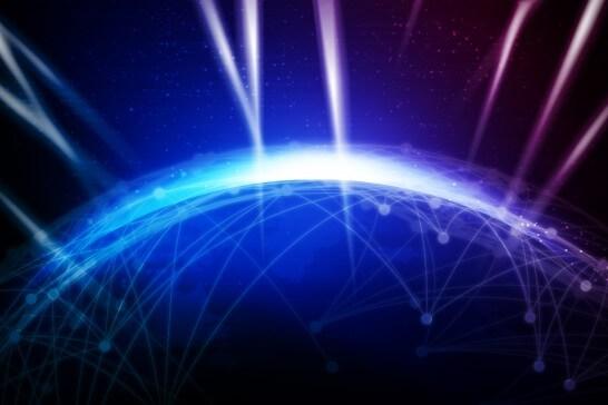 インターネットテクノロジーのイメージ図