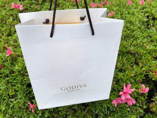 ゴディバの紙袋
