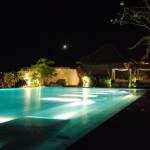 リゾートホテルのプール