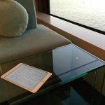 ヒルトン東京ベイで電子書籍を読書