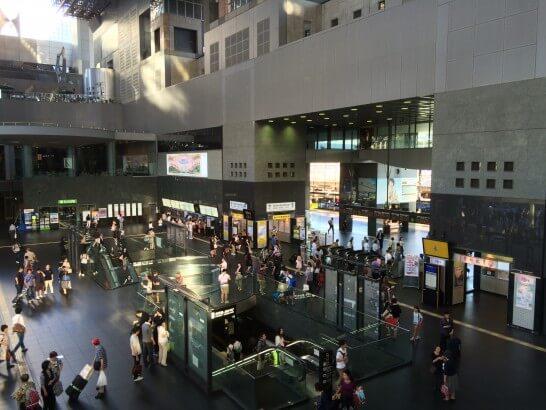 JR京都駅の中央改札口