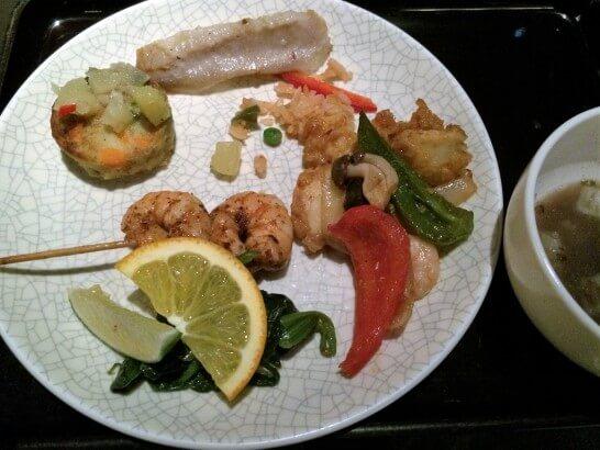 ヒルトン東京ベイの煮物・焼き物