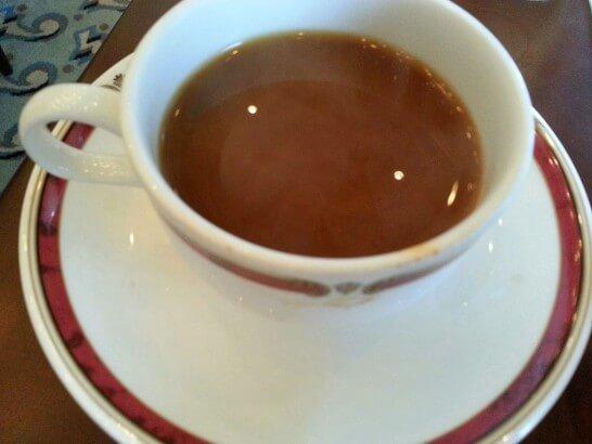 ザ・プリンス 箱根芦ノ湖の朝食のコーヒー