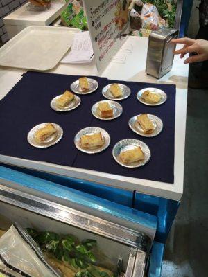 日本ハムグループ展示会のサンドイッチ