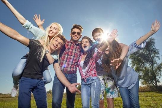 外国人の若者