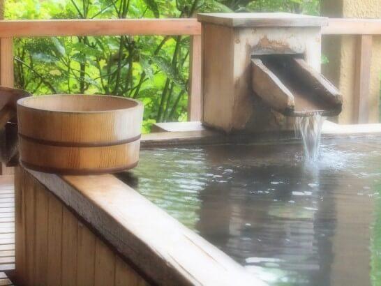リゾートの温泉