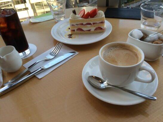 大丸東京店の喫茶店