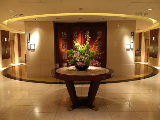 ANAインターコンチネンタルホテル東京のフロア