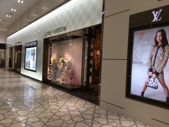 ルイ・ヴィトンの店舗