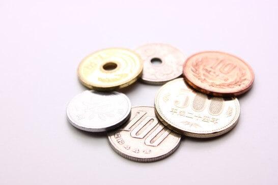 貨幣(500円玉・100円玉・10円玉・5円玉・1円玉)
