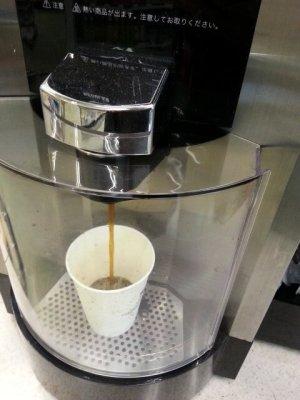 セブン-イレブンのコーヒーマシン