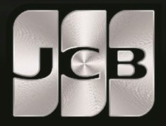 JCBの上位カードのロゴ(箔押し印刷)