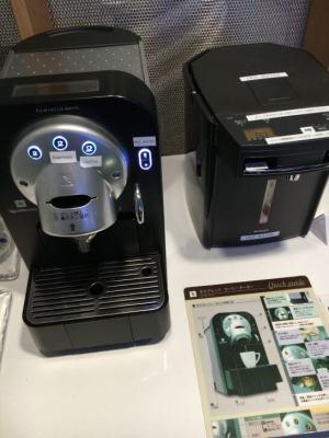 ダイナースクラブ 銀座ラウンジのコーヒーマシン