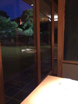 界伊東のレストランからの眺め