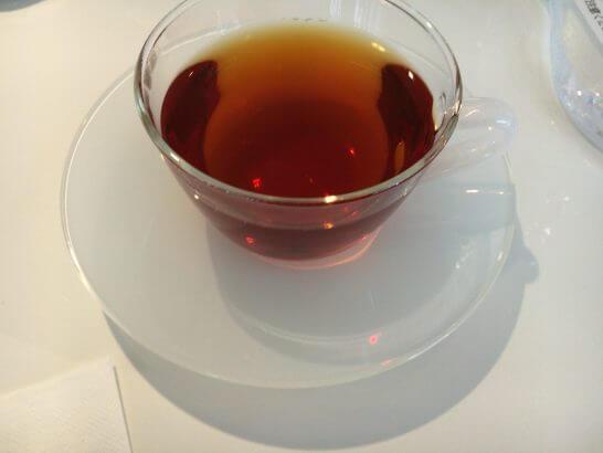 ダイナースクラブ 銀座ラウンジの紅茶