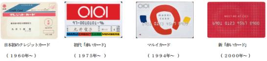 丸井のクレジットカードの歴史