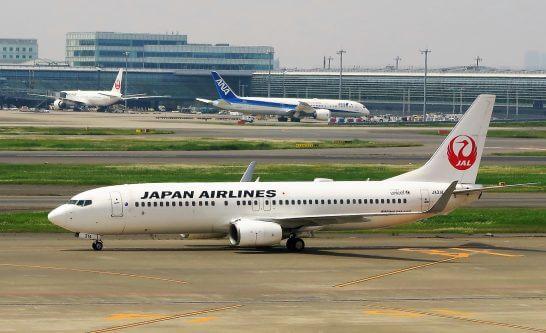JALの飛行機とANAの飛行機