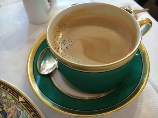 RISTORANTE REGAのコーヒー