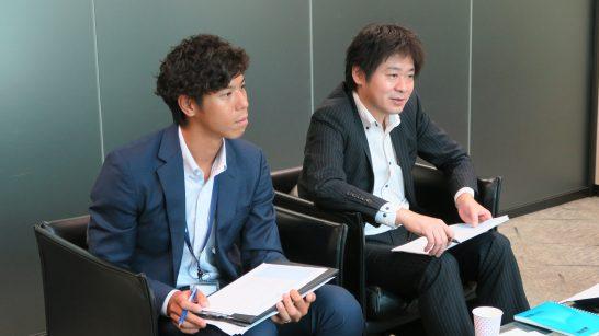 SBI証券 商品開発部 稲葉さんと杉本部長